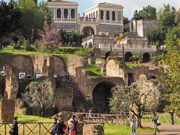 Villa con los Jardines Farnese en Roma - Villa con los Jardines Farnese en Roma