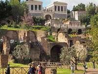 Vila se zahradami Farnese v Římě - Vila se zahradami Farnese v Římě
