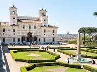 Villa Medici με θέα στη Βασιλική του Αγίου Πέτρου στη Ρώμη - Villa Medici με θέα στη Βασιλική του Αγίου Πέτρου στη Ρώμη