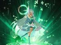 Lolirock - Puzzle lolirock princesse lyna cristal quinta