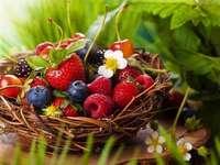 Koszyczek Z Owocami