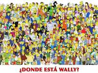 Look for wally - Finding Wally the Simpsons