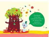 DER BAUM UND DIE KATZE - TALE THE TREE UND CAT V VALUE GRATITUDE