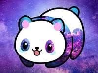 Panda Hawaii Galaxien - Panda Hawaii ist so süß, dass es sich in ein Puzzle verwandelt