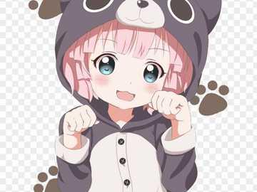 Hawaii anime bear - My Teddy Bear is very cute