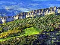 Aliano in the Basilicata region of Italy - Aliano in the Basilicata region of Italy