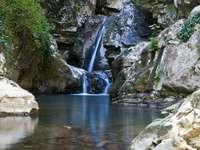 Cascate San Fele Basilicata Region Italy - Cascate San Fele Basilicata Region Italy