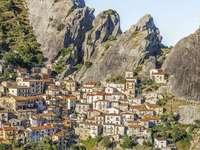 Castelmezzano Basilicata Region Italy - Castelmezzano Basilicata Region Italy