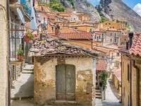 Castelmezzano Basilicata Region Italy