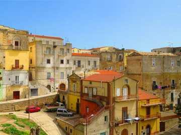 Region Irsina w Basilicata we Włoszech