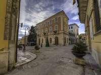 Potenza Piazza del Municipio Basilicata Италия