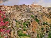 Matera labyrinth of Sassi Basilicata Italy - Matera labyrinth of Sassi Basilicata Italy