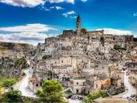 Matera régió Basilicata Olaszországban