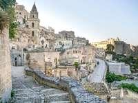 Región de Matera de Basilicata Italia