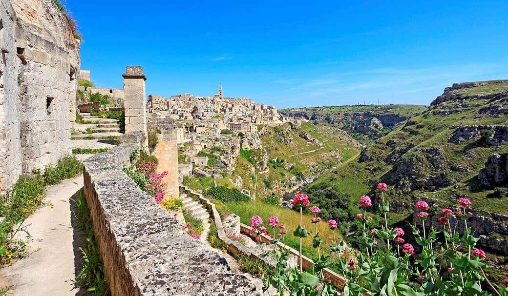 Matera region of Basilicata Italy online puzzle