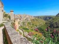 Matera region Basilicata Itálie - Matera region Basilicata Itálie