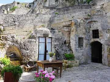 Matera viviendas trogloditas región de Basilicata Italia - Matera viviendas trogloditas región de Basilicata Italia