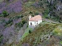 Maratea bergkyrka Basilicata region Italien - Maratea bergkyrka Basilicata region Italien