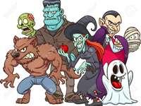 Halloween - Ez egy halloweeni rejtvény, amely segít a CEAMO-s diákjaimnak