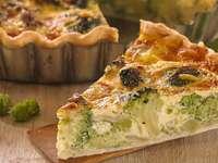 Broccoli tart - Healthy broccoli cake
