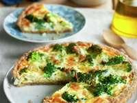Wholemeal cake - Whole broccoli tart