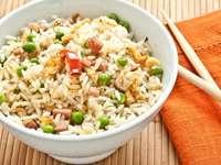Rice salad - Chicken and rice salad