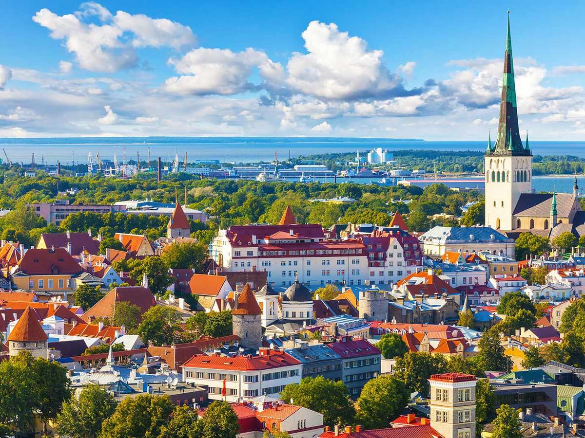 Страна Естония - Столица Талин Северна Европа (8×6)