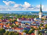 Észtország országa - Főváros Tallinn Észak-Európa