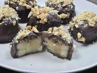 Filled chocolates - Banana filled chocolates