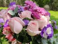 Ωραία λουλούδια - Ωραίο μπουκέτο λουλούδια