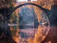 Saxony. - Landscape puzzle.