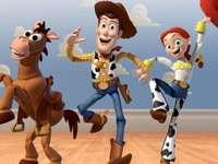 Woody, Jessie i strzelanie do celu