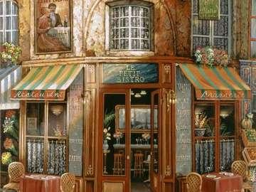 Kávézó Párizsban