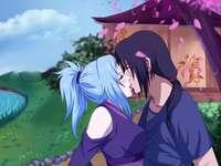 Ο Itachi και ο Miku - Ο Itachi και ο Miku φιλιούνται