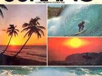 Списание за сърфиране - Това е снимка на Хавай.