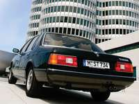 BMW E23 Sedan - This Is A Photo Of A Car From Germany.