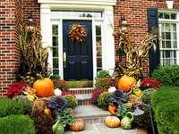 Podzimní dekorace před domem - Podzimní dekorace před domem