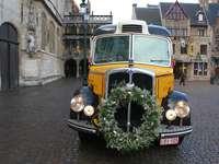 Zdobený svatební autobus - Zdobený svatební autobus