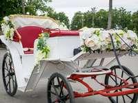 Zdobený svatební kočár - Zdobený svatební kočár
