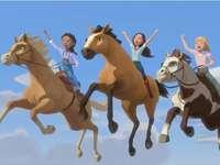 Sorte Pru Abigail imparável - Spirit e Lucky Pru e Chica Linda Abigail e Boomerang