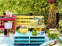 picnic en el balcón - m ........................