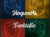 Hogwarts Fantastic - Divirta-se com meu quebra-cabeça