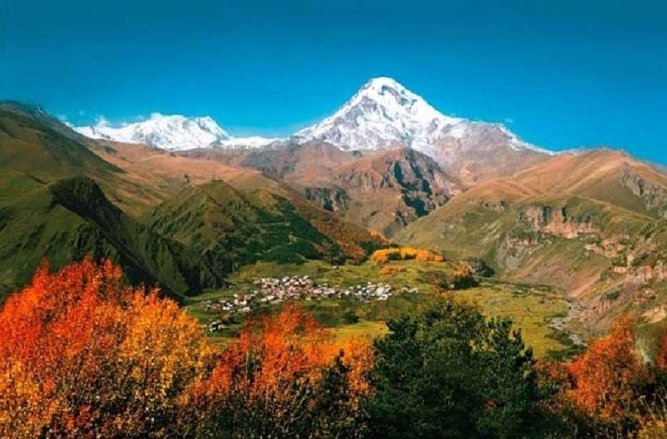 <<Caucase>> - Puzzle de paysage (12×8)