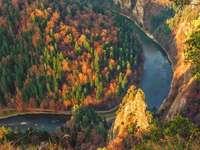 Dunajec gorge. - Landscape puzzle.