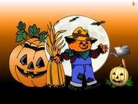 Halloween, die Vogelscheuche - m ........................
