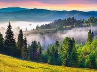 mlha v horách - m .....................