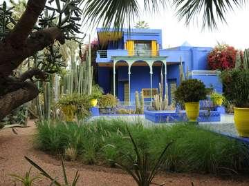 Domů, Majorelle, zahrada, Marrákeš