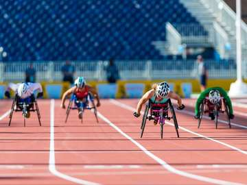 sport - people with disabilities
