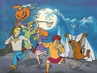 Scooby Doo - Scooby-Doo mit einer Crew von Geheimnissen