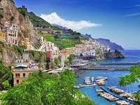 Amalfiküste Region Kampanien Italien